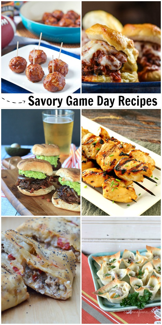 Savory Game Day and Tailgating Recipes