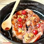 Brown Sugar Ham Steak Recipe