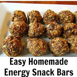 Homemade Energy Snack Bars fb