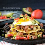 Huevos Rancheros Breakfast Stack