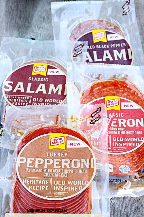 Oscar Mayer Old World Style Pepperoni & Salami 2