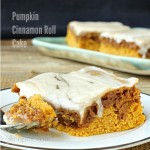 Pumpkin Cinnamon Roll Cake