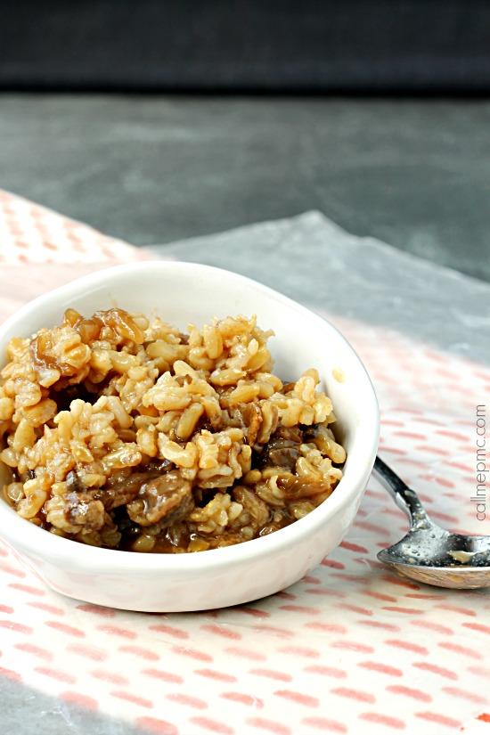 20 Minute Pork Chop Rice One Pot Recipe