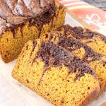 Marbled Pumpkin Chocolate Bread