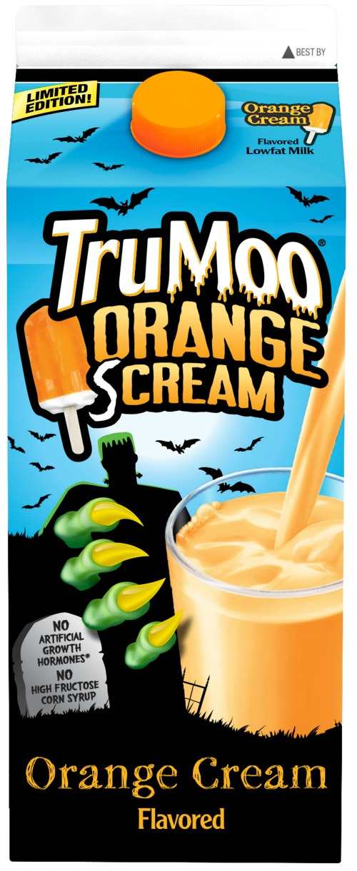 Orange Scream Carton milk TruMoo