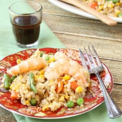 Shrimp Vegetable Fried Rice
