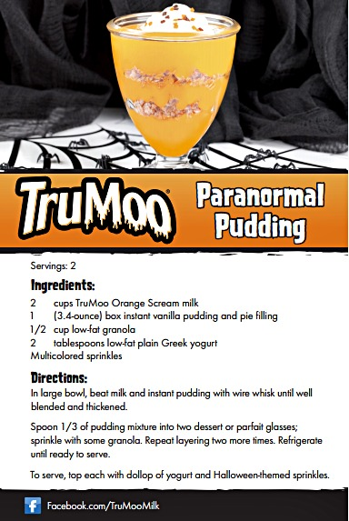 TruMoo paranormal pudding