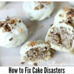 what to do when you cake wrecks