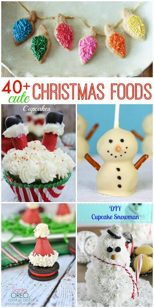 40 Cute Christmas Foods