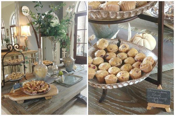 Cranberry Orange Pecan Muffins