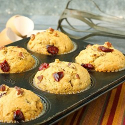 Dried Cranberry Orange Muffins