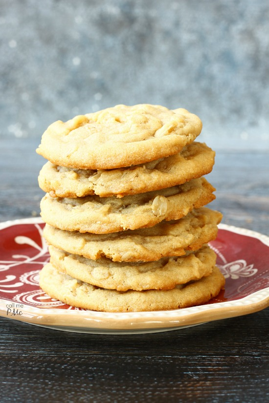 Easy Peanut Butter Oatmeal Cookie Recipe Call Me Pmc