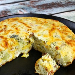 Bacon Broccoli Cheese Buttermilk Cornbread