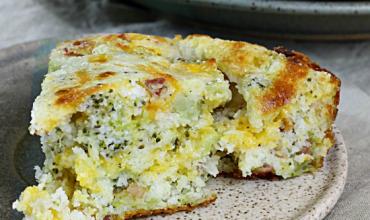 Bacon Broccoli Cheese Buttermilk Cornbread