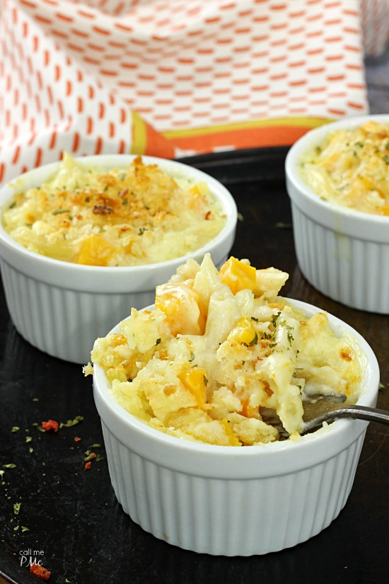 Butternut Squash Macaroni and Cheese - great way to sneak vegetables in for kids!