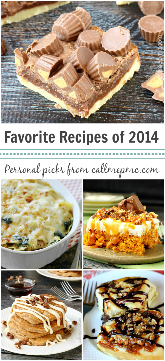 PMc's Favorite Recipes 2014
