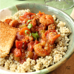 Spicy Shrimp Jambalaya Quinoa Recipe