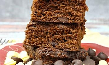 Good For You Triple Chocolate Brownies