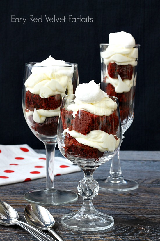 Red Velvet Parfaits Recipe