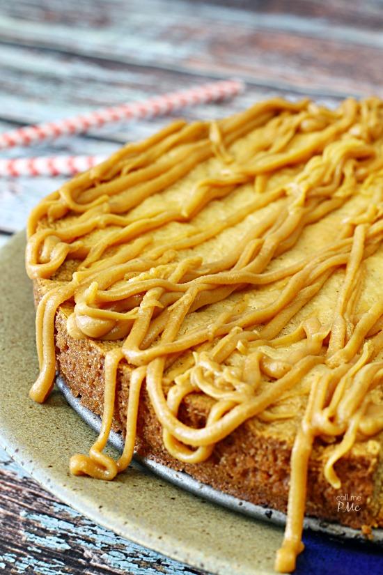 Three Ingredient Peanut Butter Blondie Recipe