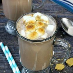 TruMoo Rocky Road Hot Chocolate