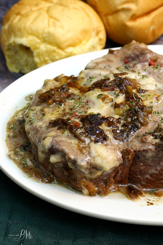 3 Ingredient Slow Cooker Pot Roast