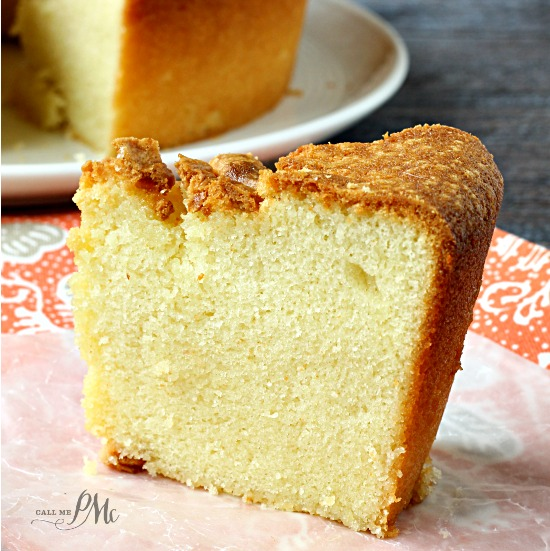 Simple Vanilla Cake With Egg: Sour Cream Pound Cake Recipe > Call Me PMc