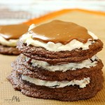 Triple Layer Chocolate Cookies