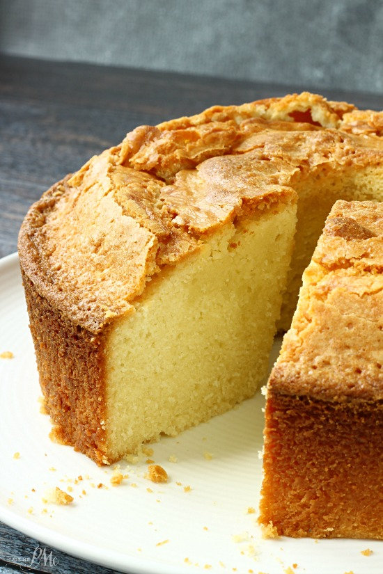 Make Sour Cream Pound Cake Scratch