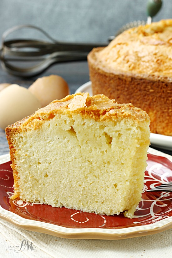Crusty Pound Cake Recipe