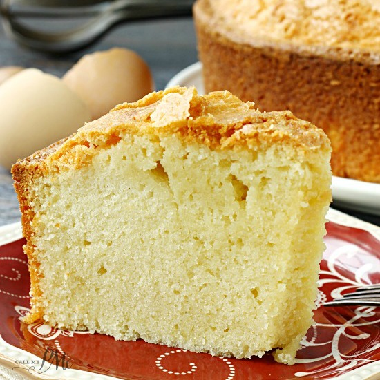 Healthy Sour Cream Pound Cake Recipe