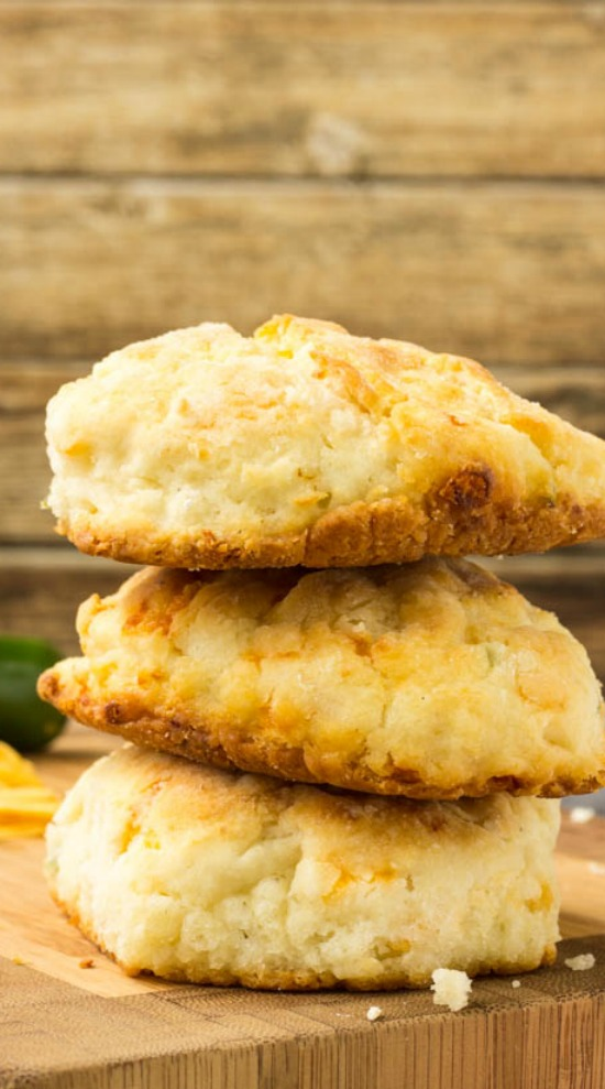 Cheddar Jalapeno Cornbread Biscuits » Call Me PMc