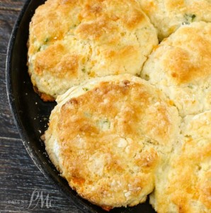 Cheddar Jalapeno Cornbread Biscuits