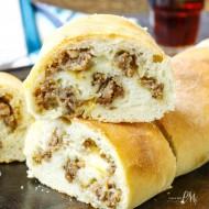 Homemade Sausage Cheese Stromboli Recipe