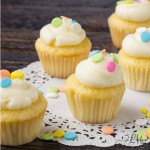 How to make Lemon MIni Cupcakes