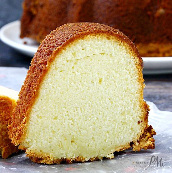 Lemon Pudding Pound Cake Recipe From Scratch