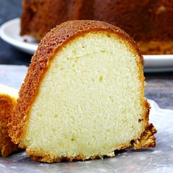 Mile High Cream Cheese Pound Cake
