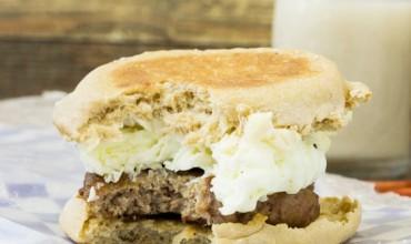 LOW-CALORIE BREAKFAST SANDWICH
