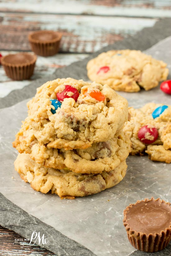 Soft Peanut Butter Oatmeal Cookie Recipe Call Me Pmc