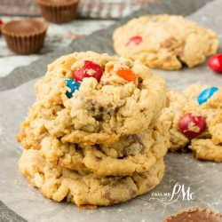Soft Peanut Butter Oatmeal Cookie Recipe f