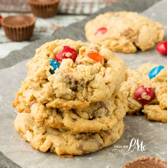 Soft Peanut Butter Oatmeal Cookie Recipe a delicious homemade, easy cookie recipe