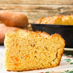 Sweet Potato Sour Cream Cornbread Recipe