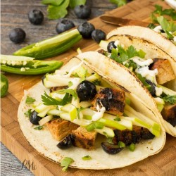 Apple Slaw Pork Loin Tacos