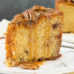 Pecan Pie Pound Cake