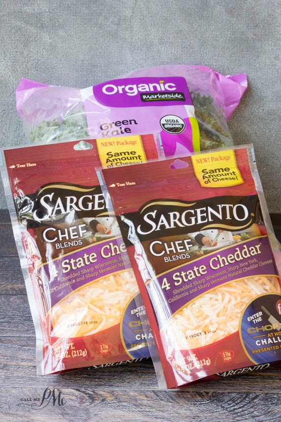 Sargento cheese Bacon Kale Mac n Cheese