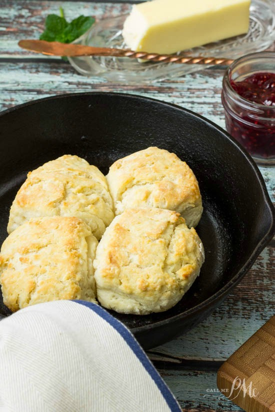Homemade 3 Ingredient Biscuits for Two recipe