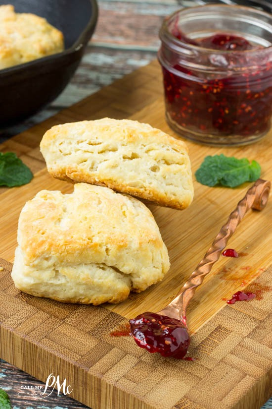 Homemade 3 Ingredient Biscuits for Two recipe - perfect for 1 or 2 people!