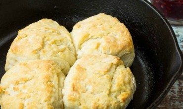 3 Ingredient Biscuits for Two