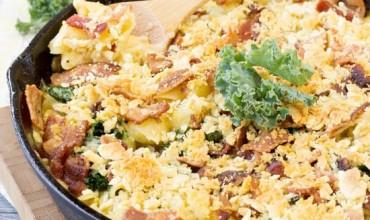 Bacon Kale Mac n Cheese