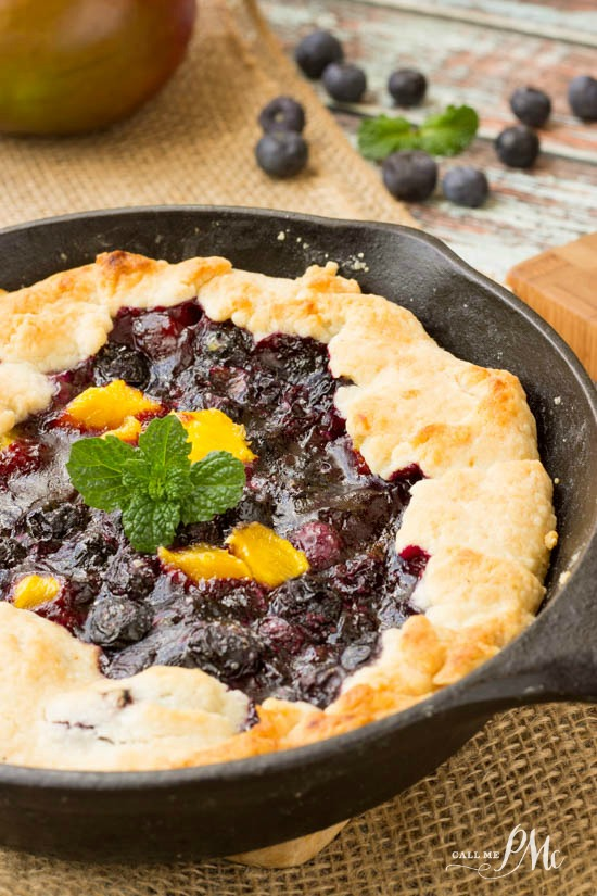 Blueberry Mango Cobbler Recipe